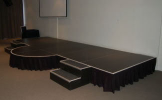Staging Hire Co Stage Hire Sydney With Pa System And